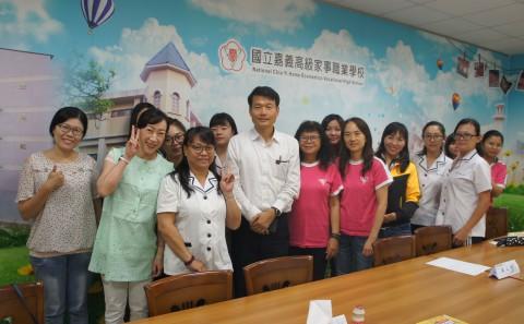 1081校長與學生的晚餐座談